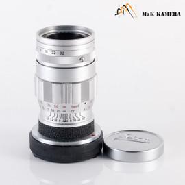 Leica Elmar M 90mm/F4.0 E39 Ver.II V2/ 3 Elements Silver Lens Yr.1965 #577