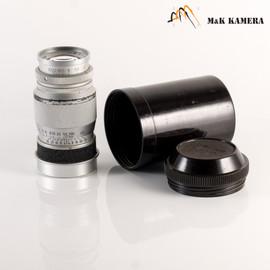 LEITZ Leica Elmar L39 90mm/F4.0 Silver Lens Yr.1950 LTM Germany #576