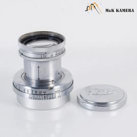 LEITZ Leica Summar L39 50mm/F2.0 Silver Lens Yr.1938 LTM Germany #029