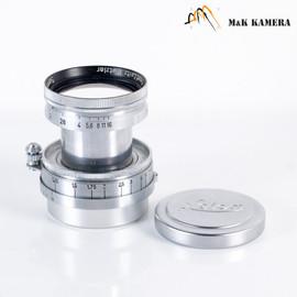 LEITZ Leica Summitar L39 50mm/F2.0 Silver Lens Yr.1946 LTM Germany #031