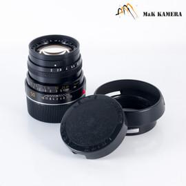 LEITZ Leica Summicron M 50mm/F2.0 IV Lens Yr.1978 Canada #096