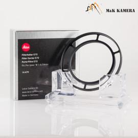 Leica Filter Carrier / Holder E72 Black 14479 for M21/1.4 #479