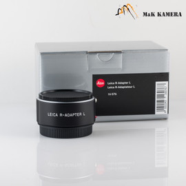 Leica R-adapter-L 16076 for SL camera and Rom R lens #076