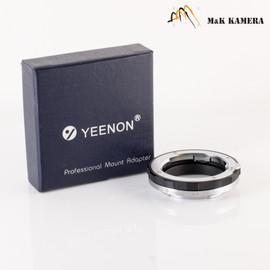 Yeenon LM to E mount adapter Black #01B