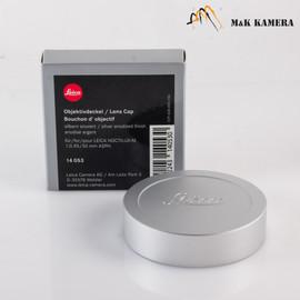 Leica Lens Cap Silver 14053 for Leica Noctilux-M 50/0.95 ASPH Silver #053