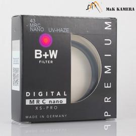 B+W 43mm UV-Haze MRC Nano Filter #879