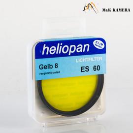 Heliopan 60 Yellow Gelb 8 Filter #493
