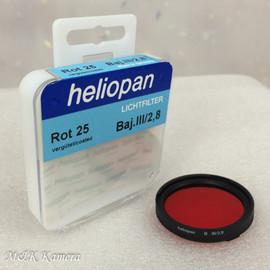 Heliopan Bay. III Red Rot 25 Filter #021