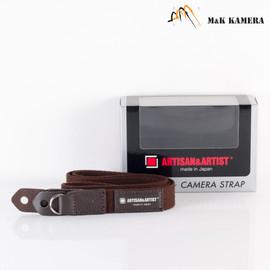 Artisan & Artist Brown -102 Strap for Leica M Camera #2BN