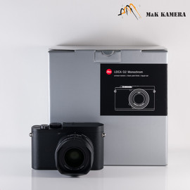 Leica Q2 Monochrom Black Digital Compact Camera #055