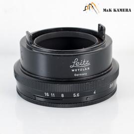 Leica VTOOX w/ aparture control Hood for Elmar 5cm 50mm f/2.8 #310
