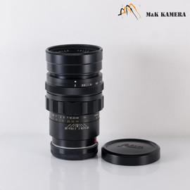 LEITZ Leica Summicron M 90mm/F2.0 Ver.I V.1 Black Lens Yr.1971 Canada #134