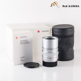 Leica Elmarit-M 90mm/F2.8 E46 Ver.II V2 Silver Lens Yr.1996 Germany #135