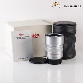 Leica Summicron-M 90mm/F2.0 E55 Ver.II Pre-Asph Silver Lens Yr.1993 Canada #149