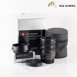 Leica Tri-Elmar-M 28-35-50mm/F4.0 E49 ASPH Lens Yr.2002 Germany 11625 #033