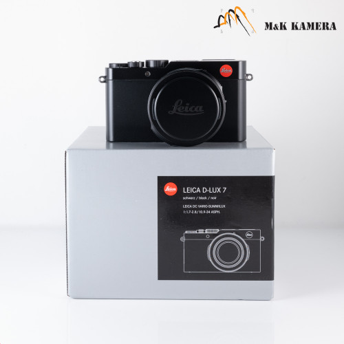 Leica D-Lux 7 Black Digital Camera 19140 #140