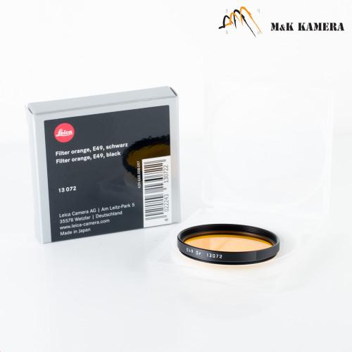 Leica E49 Orange Black 13072 Filter #072