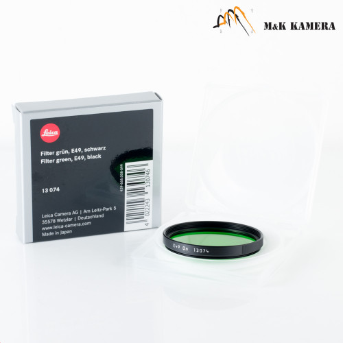 Leica E49 Green Black Filter #074