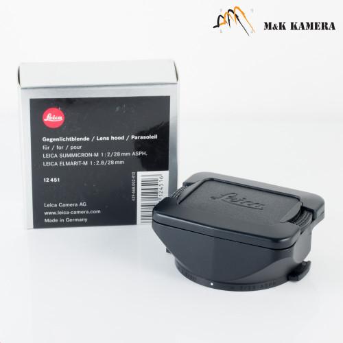 Leica 12451 Hood for Summicron-M 28mm f/2.0 Asph #544