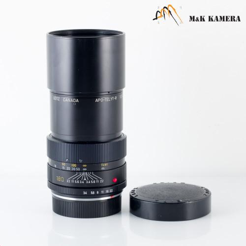 LEITZ Leica APO-Telyt-R 180mm F/3.4 Lens Yr.1978 Canada #561