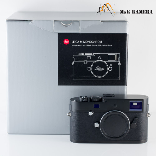 Leica Monochrom 246 Black Digital Rangefinder Camera 10930 #187