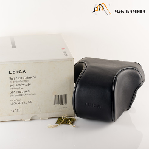 Leica Every ready case Black with large front for M6 #175