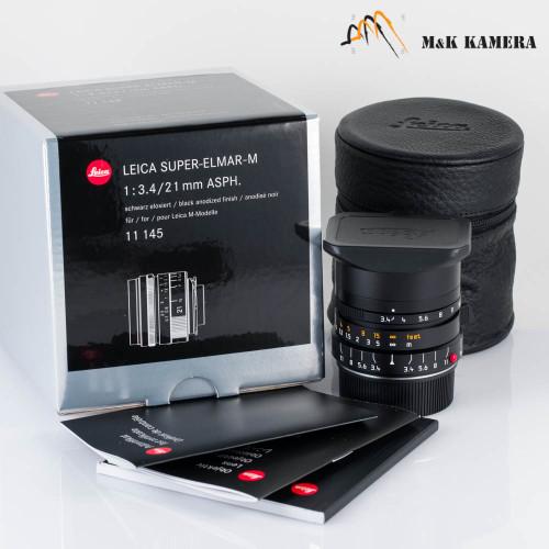 Leica Super-Elmar-M 21mm/F3.4 ASPH Lens Germany #145