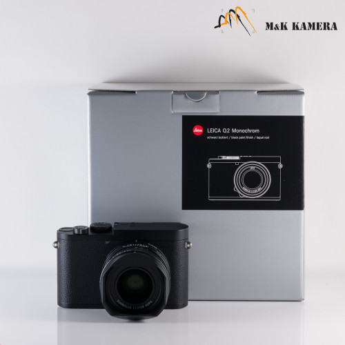 Leica Q2 Monochrom Black Digital Compact Camera #055