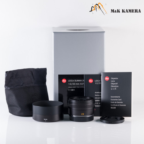 Leica Summicron-TL 23mm/F2.0 Asph. Black Lens Japan 11081 #081