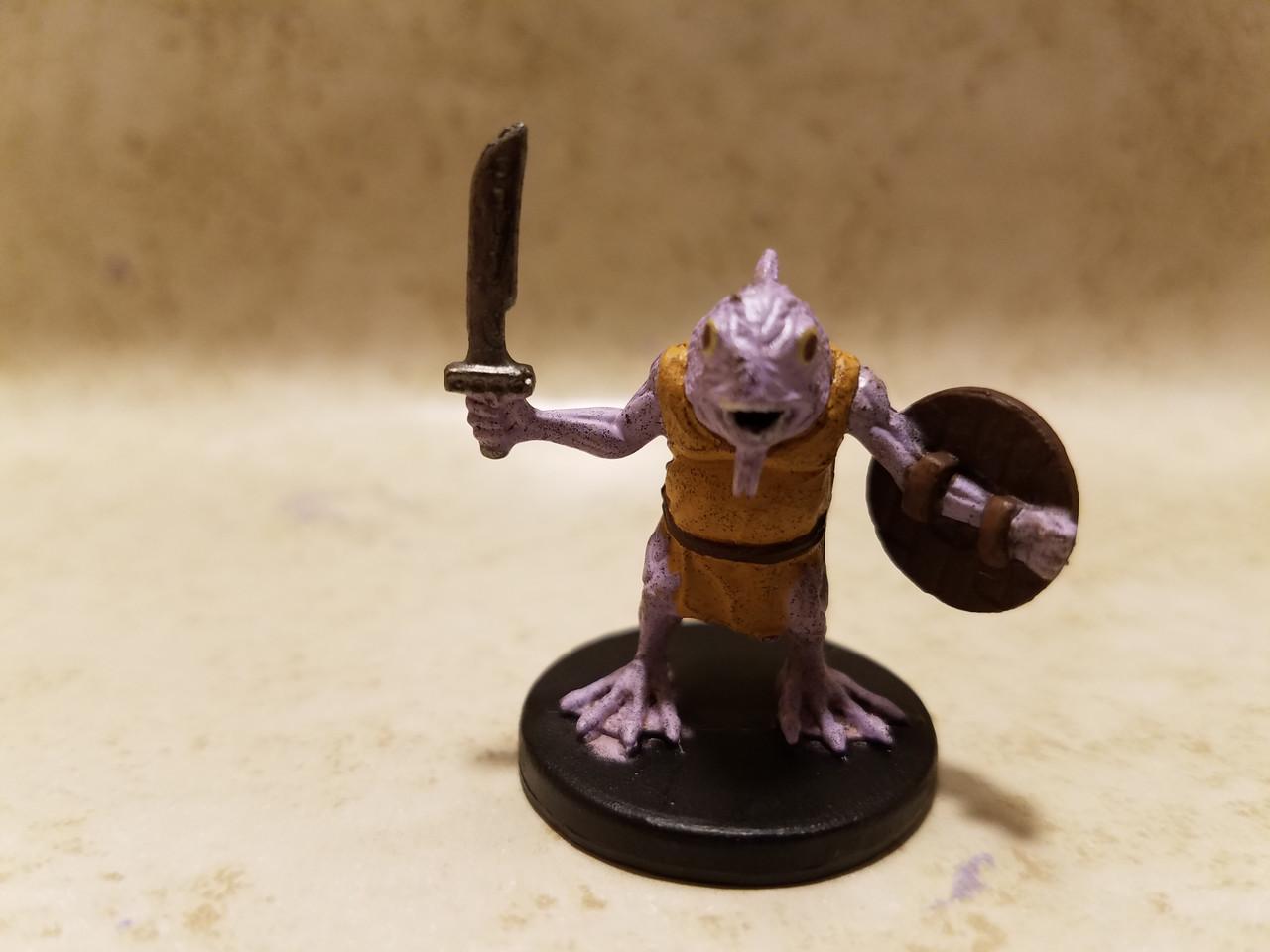 Harbinger D/&D Miniatures C Kuo-Toa #68