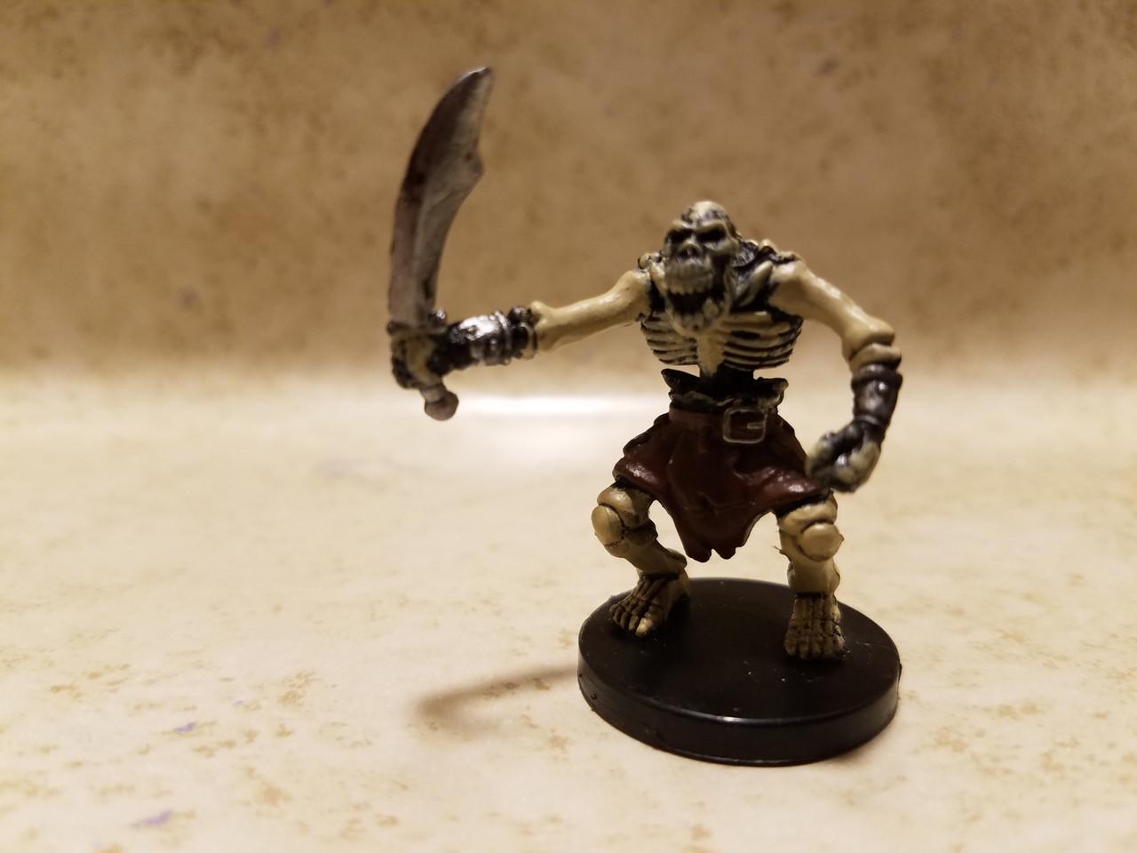 Orc Skeleton #55 (C) Underdark D&D Miniatures New!