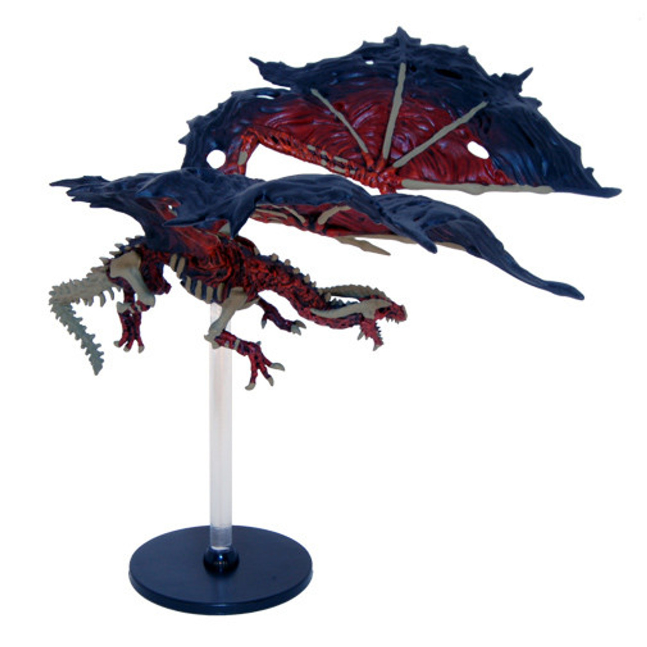Red Dracolich #48 Rare Rage of Demons D&D Miniatures