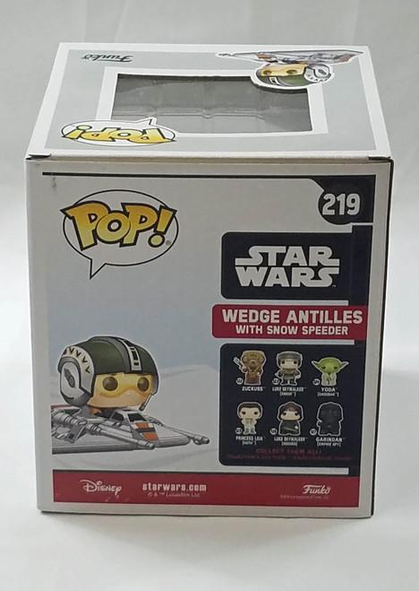 Wedge Antilles Snow Speeder #219 Funko Pop! Star Wars Walgreens Exclusive