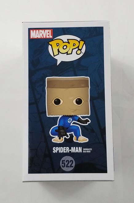 Spider-Man Bombastic Bag Man #522 Funko Pop Walgreens Exclusive New!