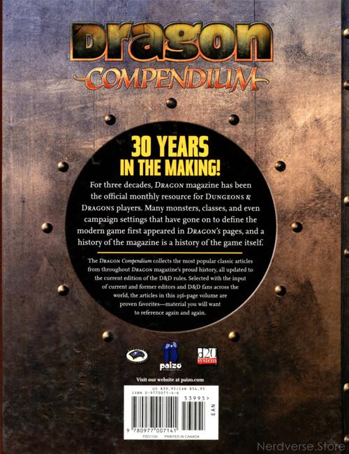 Dragon Compendium Volume 1 Magazine HC Dungeons & Dragons Paizo