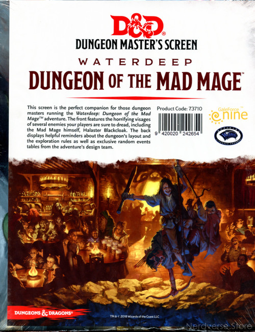 GF9 DM Screen Waterdeep Dungeon of the Mad Mage 5th Ed New Sealed