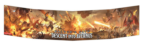 GF9 DM Screen Baldur's Gate Descent into Avernus 5th Ed New Sealed