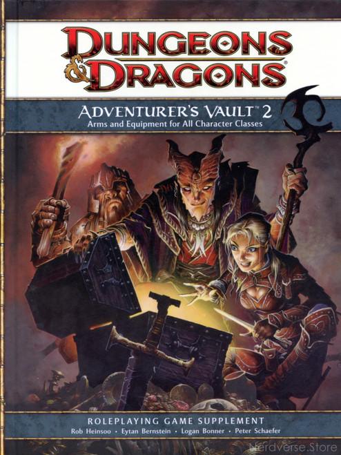 Adventurer's Vault 2 Dungeons & Dragons HC 4th Edition
