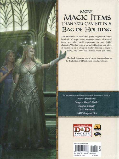 Adventurer's Vault Dungeons & Dragons 1st Print HC 4th Edition
