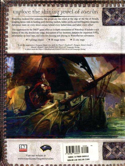 City of Splendors Waterdeep NM Forgotten Realms HC 3rd Ed 1st Printing