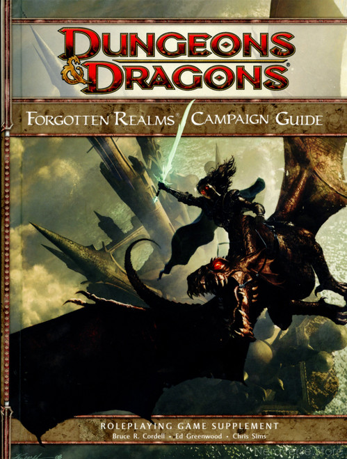 Forgotten Realms Campaign Guide Forgotten Realms HC 1st Printing