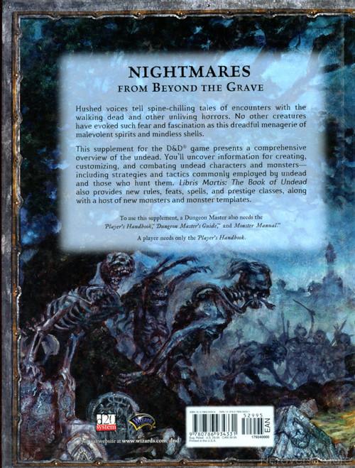Libris Mortis New Rare HC 3.5 Ed Dungeons & Dragons Reference