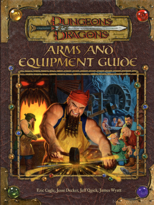 Arms & Equipment Guide Armor Weapons HC 3.5 Ed Dungeons & Dragons