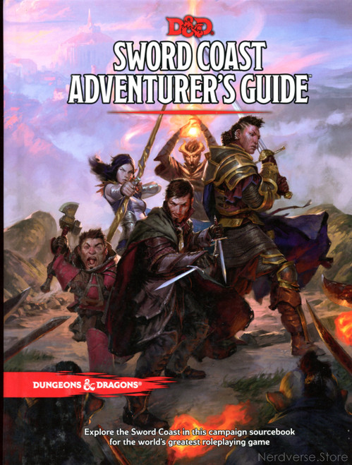 SWORD COAST ADVENTURER'S GUIDE 5th Ed New Dungeons & Dragons