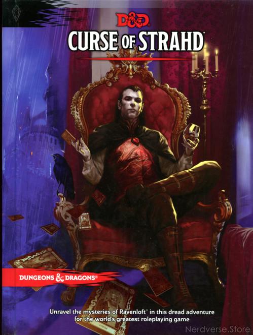 Curse of Strahd Ravenloft 5th Ed New HC Dungeons & Dragons