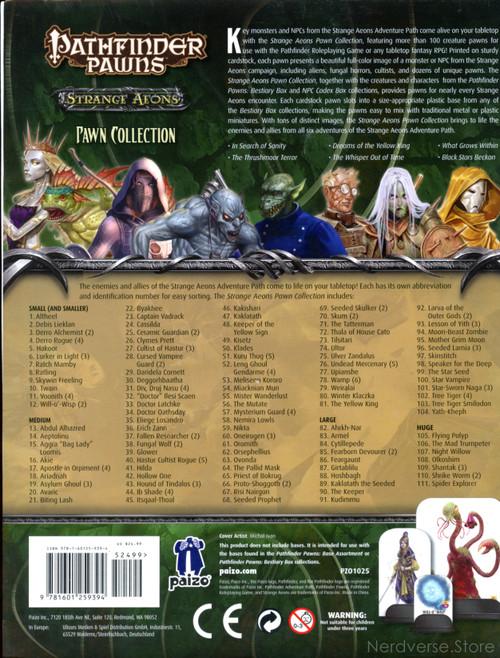 Pathfinder Pawns Strange Aeons (Several missing) Paizo Publishing