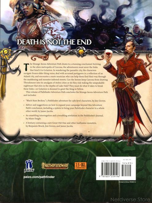 Pathfinder Black Stars Beckon Strange Aeons Part 6 Paizo Publishing