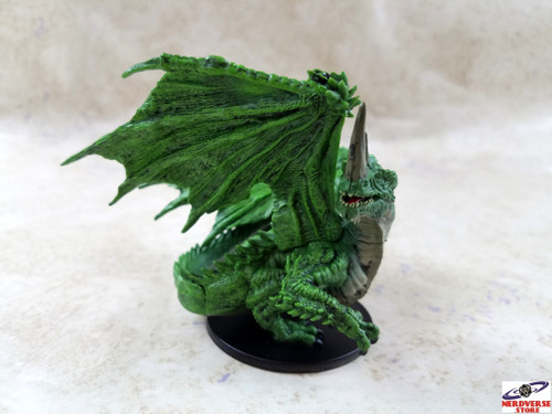 Large Green Dragon #42 Pathfinder City of Lost Omens D&D Miniatures