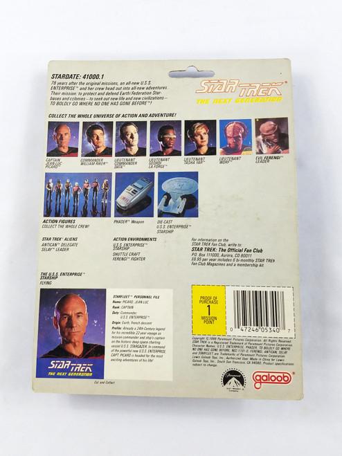 Captain Jean-Luc Picard Galoob NOC Star Trek Next Generation NV1