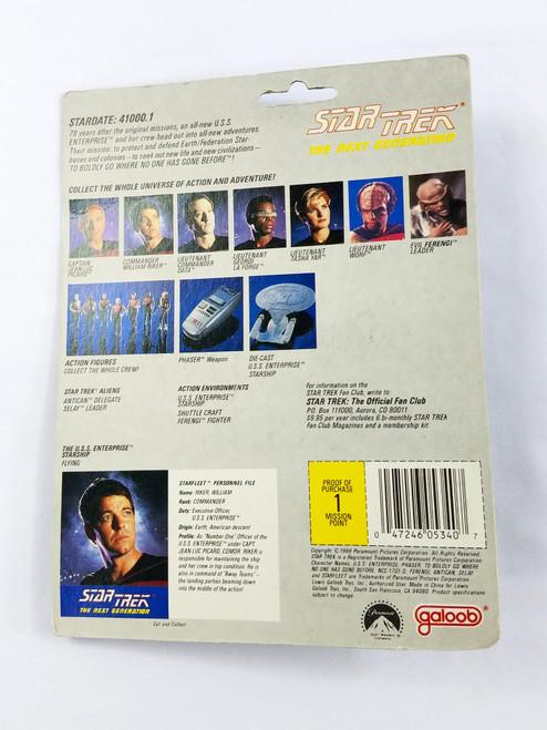 Commander William Riker Galoob NOC Star Trek Next Generation NV1